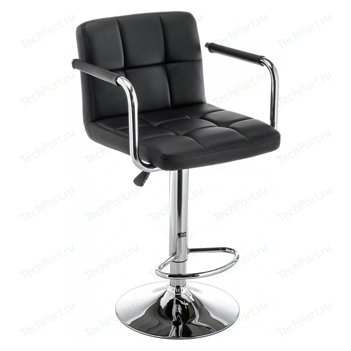 Барный стул Woodville Turit черный