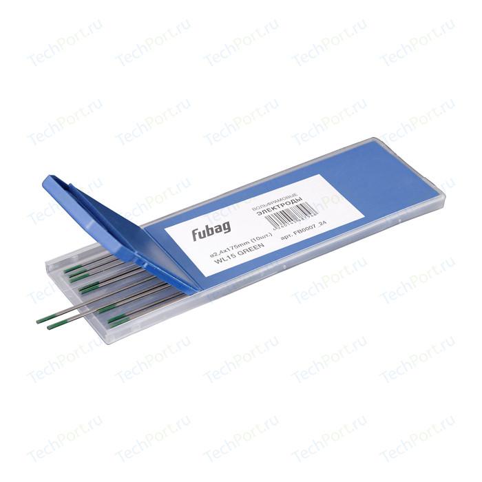 Электроды вольфрамовые Fubag 2.4х175мм (green)_WP (10шт) (FB0007_24)