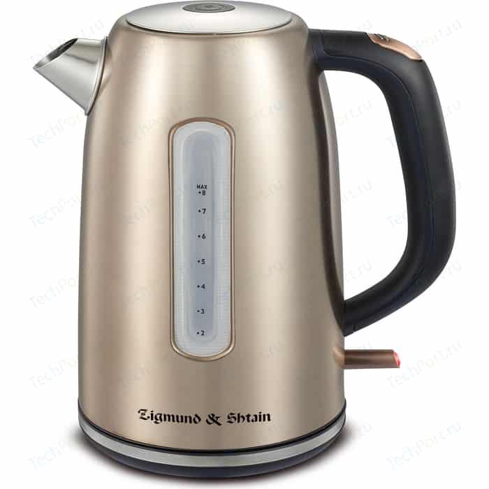 Чайник электрический Zigmund-Shtain KE-720 ионизатор new ke