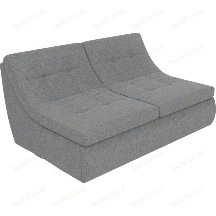 Модуль Лига Диванов Холидей раскладной диван рогожка серый