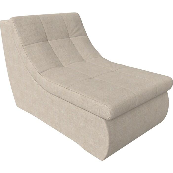 Фото - Модуль Лига Диванов Холидей кресло рогожка бежевый кресло либерти рогожка