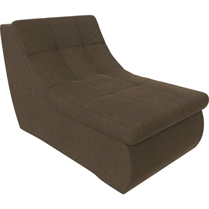 Фото - Модуль Лига Диванов Холидей кресло рогожка коричневый кресло либерти рогожка