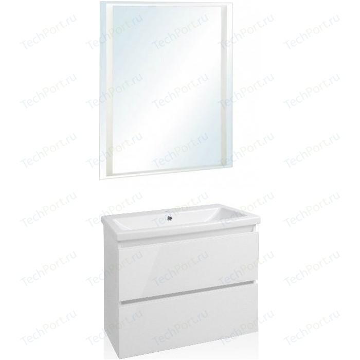Мебель для ванной Style line Даймонд Люкс 70 белая