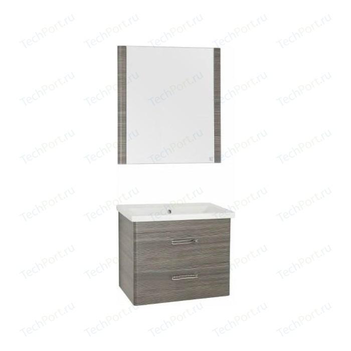 Мебель для ванной Style line Лотос 70 шелк зебрано