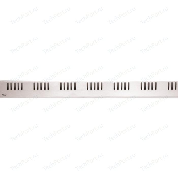 Решетка AlcaPlast нержавеющая сталь (DREAM-850L)