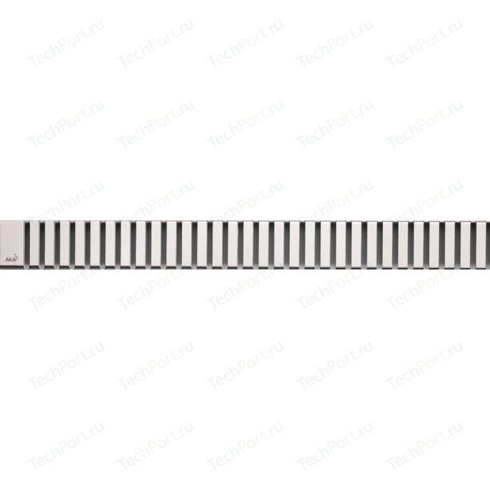 Решетка AlcaPlast нержавеющая сталь (LINE-1450M)