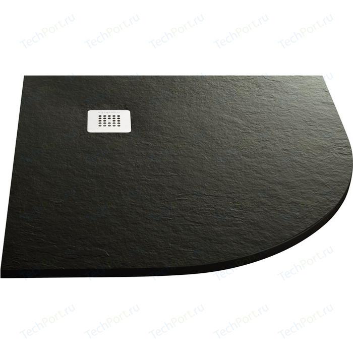 Душевой поддон Acquabella Base Slate черный 90x90 (PLATO_BASE_NINETY_SLATE_ANG_NEGRO_90x90)
