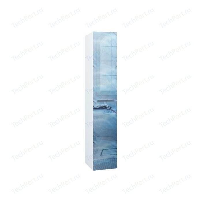 Пенал 1Marka Marka One Idalgo 30 голубой мрамор (4604613333676)