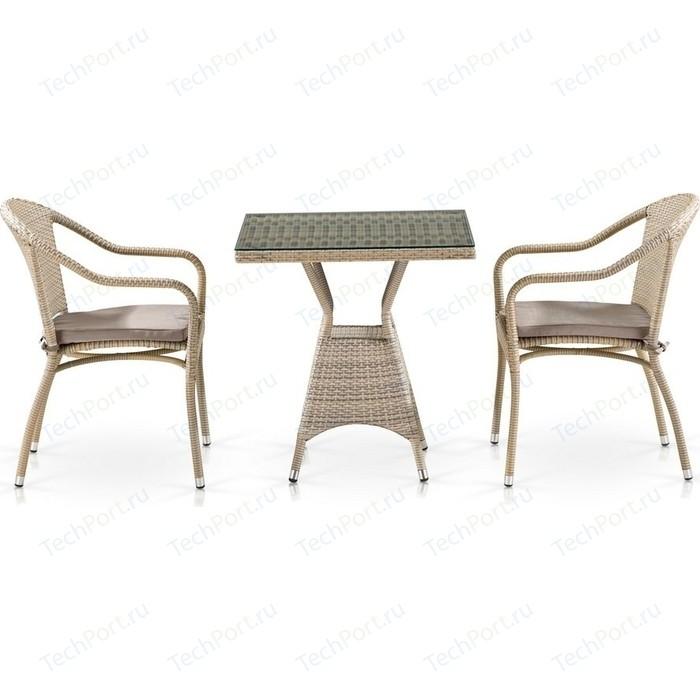 Комплект мебели Afina garden T706/Y480C-W85 2PCS latte