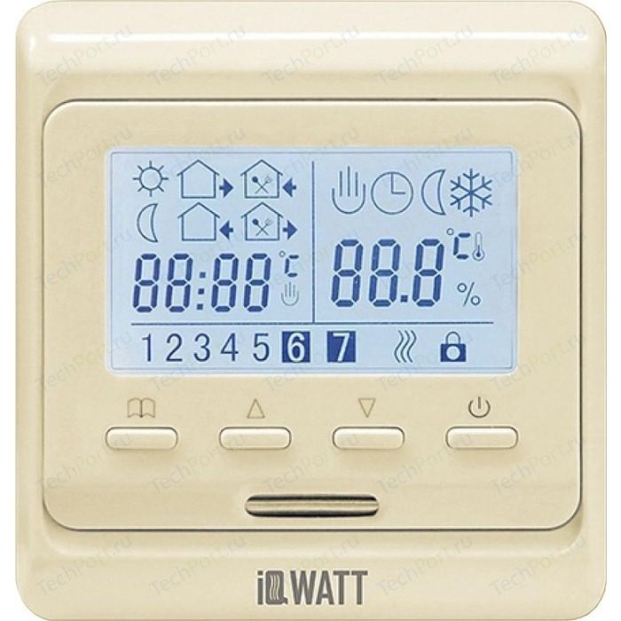 Терморегулятор программируемый IQWATT IQ THERMOSTAT P (слоновая кость)
