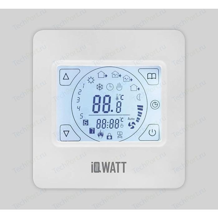 Терморегулятор программируемый IQWATT IQ THERMOSTAT TS (белые) (сенсорный дисплей)