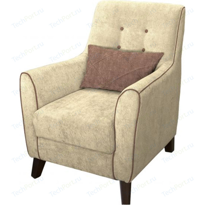 Кресло Нижегородмебель и К Френсис ткань ТК 510 кресло нижегородмебель и к либерти ткань тк 222