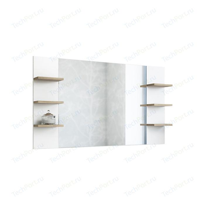 Зеркало Sanflor Ингрид 120 швейцарский вяз\белый (C0001915)