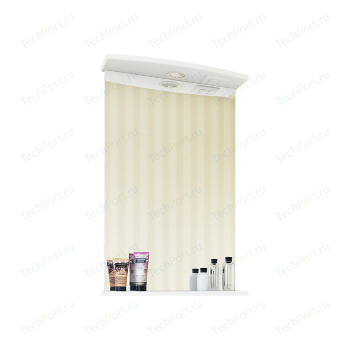 Зеркало Sanflor Софи 50 белое (C02650)