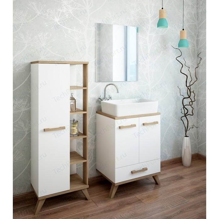 Мебель для ванной Sanflor Ингрид 60 швейцарский вяз\белый