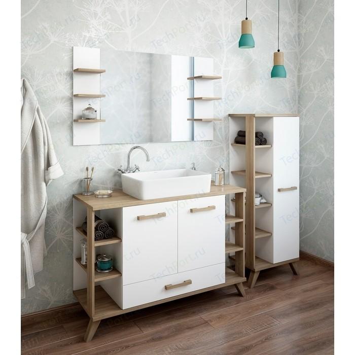 Мебель для ванной Sanflor Ингрид 120 швейцарский вяз\белый