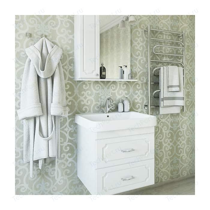 Мебель для ванной Sanflor Ксения 70 подвесная, белая