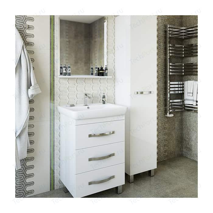 Мебель для ванной Sanflor Одри 60 напольная, белая