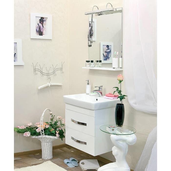 Мебель для ванной Sanflor Одри 70 подвесная, белая
