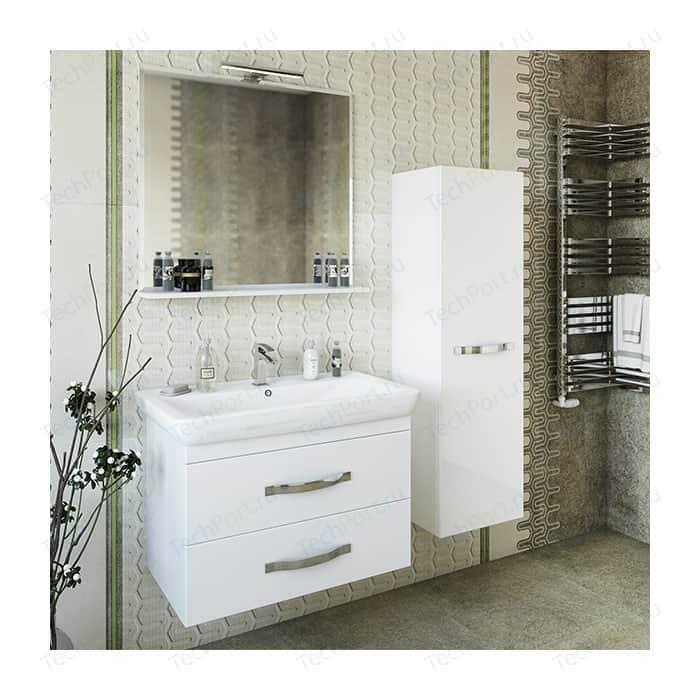 Мебель для ванной Sanflor Одри 80 подвесная, белая