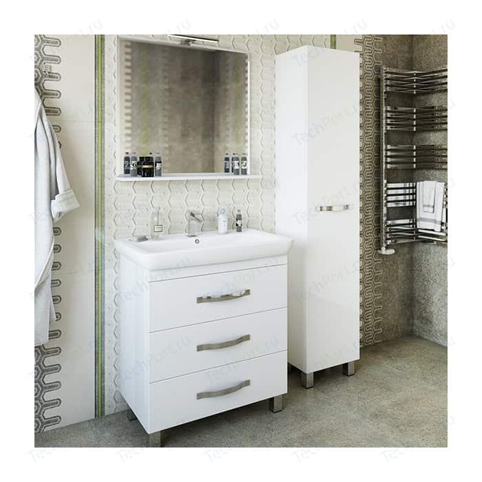 Мебель для ванной Sanflor Одри 80 напольная, белая