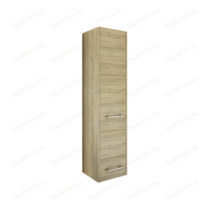 Шкаф-пенал Sanflor Ларго 40 подвесной, правый, швейцарский вяз (H0000000519)