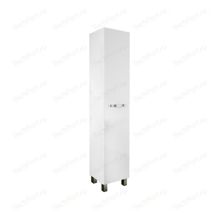 Шкаф-пенал Sanflor Одри 40 напольный, правый, белый (H0000001202)