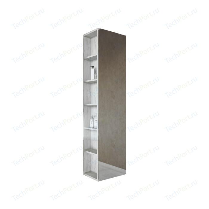 Шкаф-пенал Sanflor Чикаго 40 дуб крафт белый, правый (C000005818)