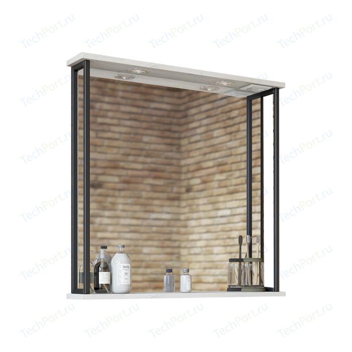 Зеркало Sanflor Бруклин 75 дуб крафт белый (C02706)