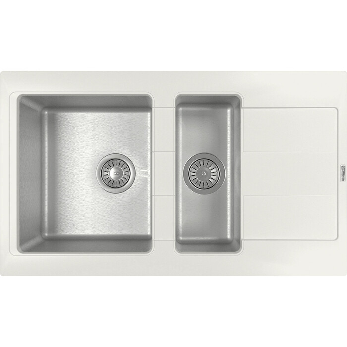 Кухонная мойка Florentina Комби 860К жасмин Fs (21.410.D0860.201)
