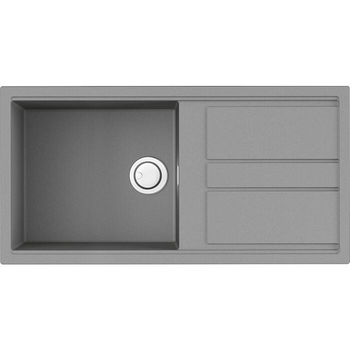 Кухонная мойка Omoikiri Kitagawa 100-GR leningrad grey (4993788)