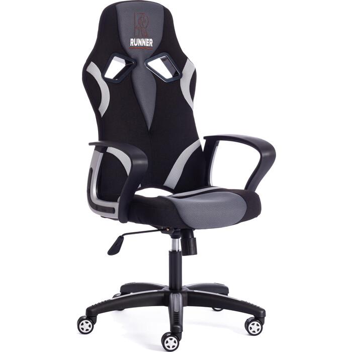 Кресло TetChair RUNNER ткань черный/серый 2603/12/14