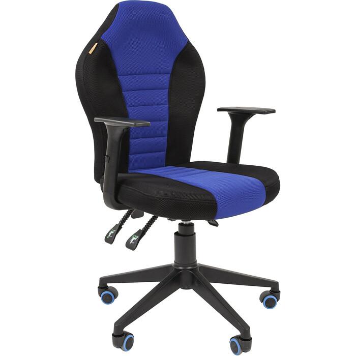 Офисноекресло Chairman Game 8 tw черный/синий