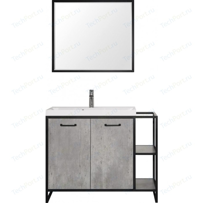 Мебель для ванной Style line Лофт 100 Бетон