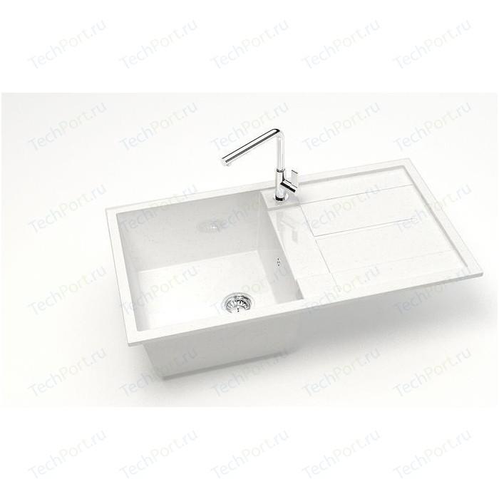 Кухонная мойка Marrbaxx Рони 85 белый лед (Z017Q001)