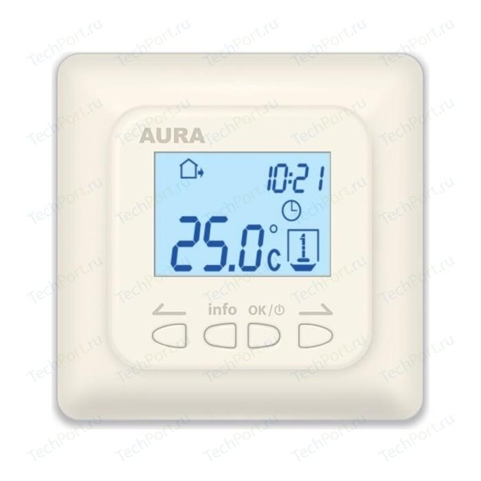 Терморегулятор Aura LTC 730 кремовый