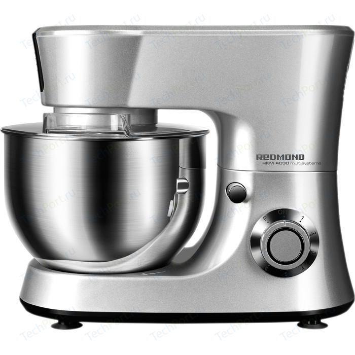 Фото - Кухонная машина Redmond RKM-4030 (серый металлик) комбайн redmond rkm 4030