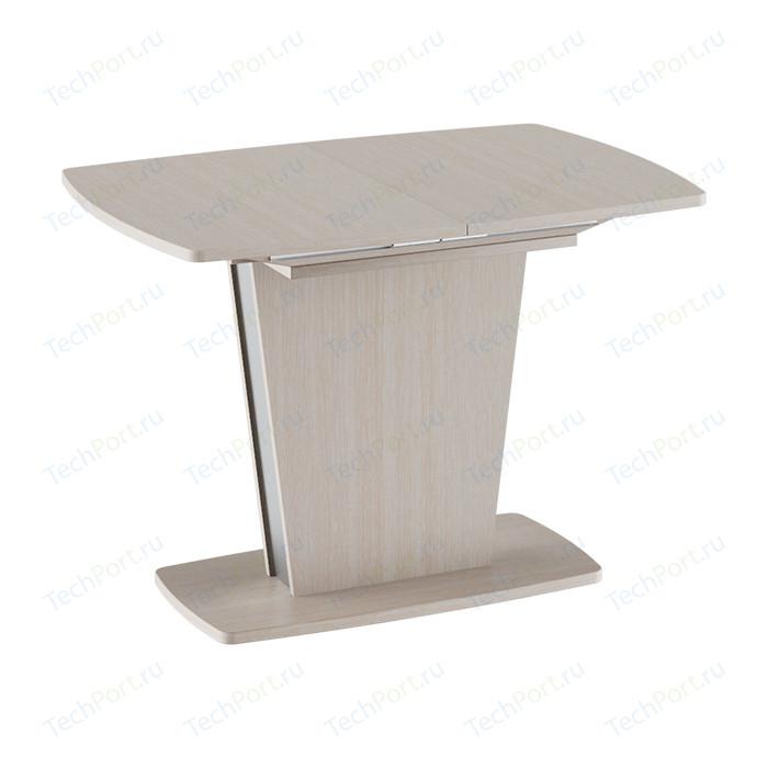 Стол обеденный ТриЯ Ливерпуль Тип 1 дуб белфорт/металлик стол обеденный трия ливерпуль тип 1 дуб сонома трюфель металлик