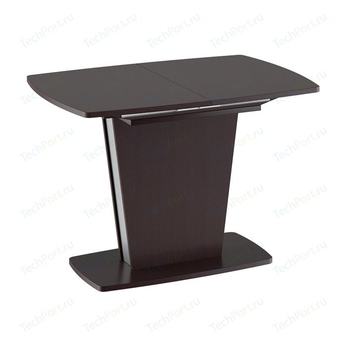 Стол обеденный ТриЯ Ливерпуль Тип 1 дуб миланский/металлик стол обеденный трия ливерпуль тип 1 дуб сонома трюфель металлик