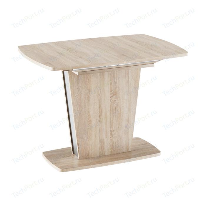 Стол обеденный ТриЯ Ливерпуль Тип 1 дуб сонома/металлик стол обеденный трия ливерпуль тип 1 дуб сонома трюфель металлик