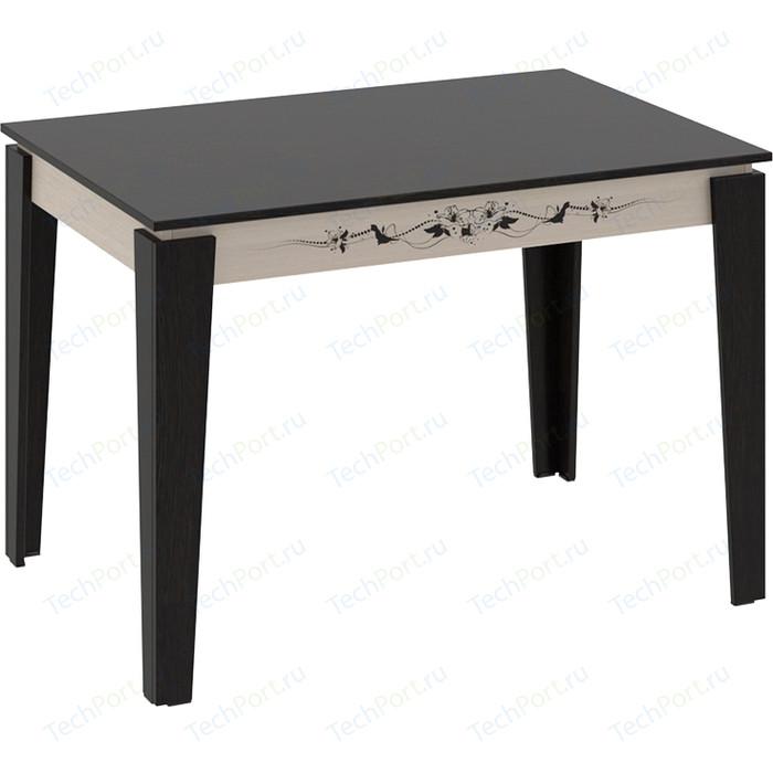 Стол обеденный ТриЯ Лацио Тип 1 венге цаво/дуб белфорт с рисунком стол компьютерный трия школьник класс м с рисунком венге цаво дуб молочный