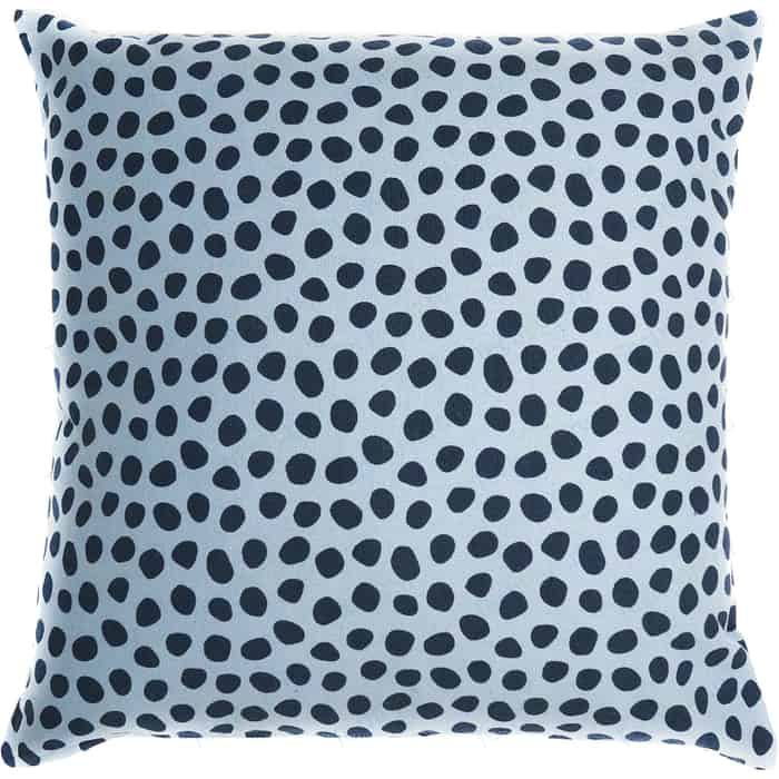Чехол для подушки с принтом Funky dots, серо-голубой 45х45 Tkano Cuts&Pieces (TK18-CC0013)