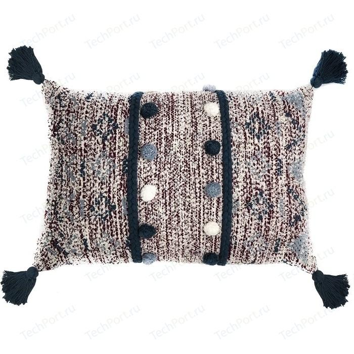 Подушка декоративная с помпонами и кисточками 40х60х20 Tkano Ethnic (TK18-CU0001)