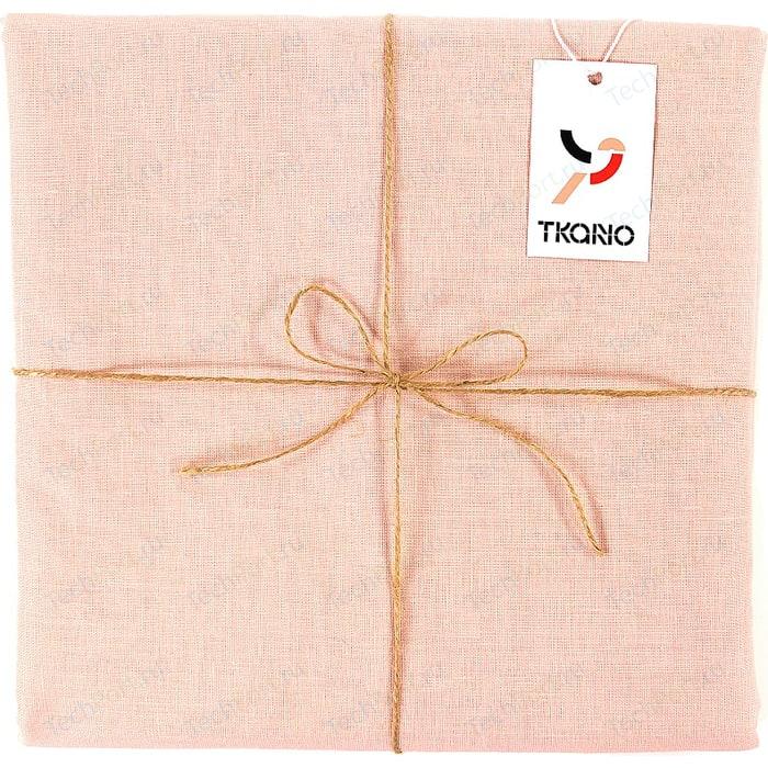 Скатерть на стол цвета пыльной розы 143х250 Tkano Essential (TK18-TC0019)