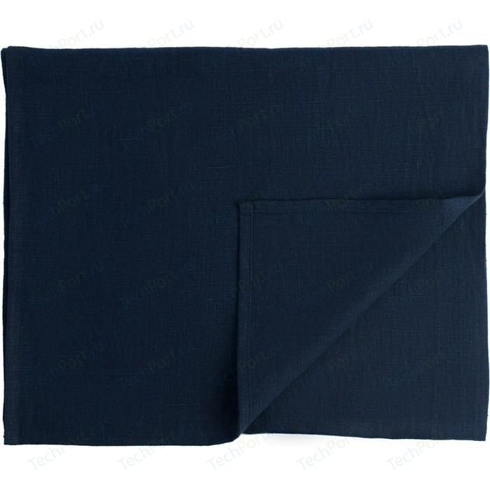 Дорожка на стол темно-синего цвета 45х150 Tkano Essential (TK18-TR0009)