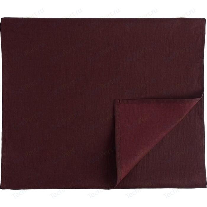 Дорожка на стол бордового цвета 45х150 Tkano Essential (TK18-TR0010)