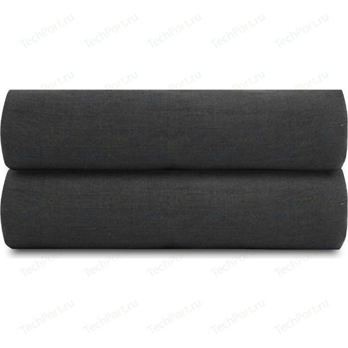 Простыня темно-серого цвета 180х270 Tkano Essential (TK18-LS0023)