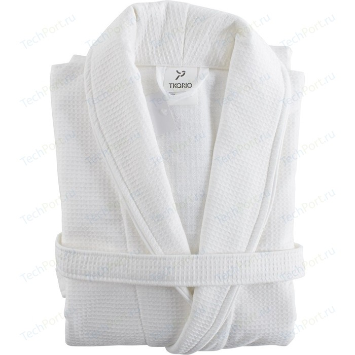 Халат банный белого цвета S/M Tkano Essential (TK18-BR0007)