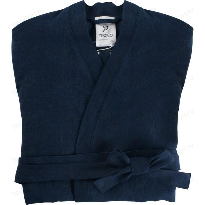 Халат темно-синего цвета M Tkano Essential (TK18-BR0005)