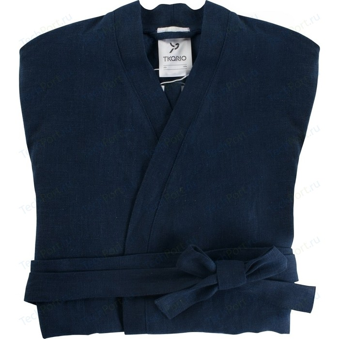 Халат темно-синего цвета M Tkano Essential (TK18-BR0006)